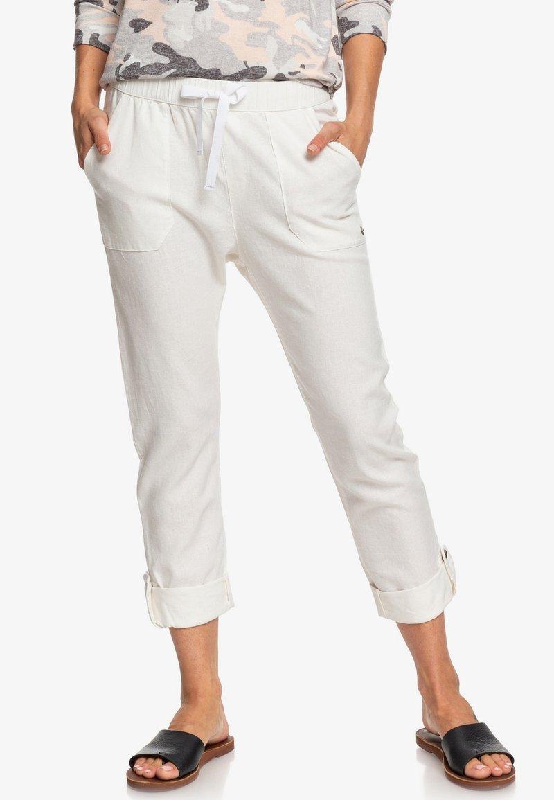 Roxy - ON THE SEASHORE  - Trousers - snow white
