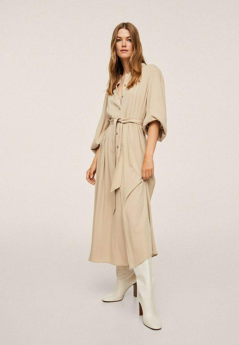 Mango - Maxi dress - lyst/pastell grå