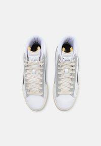 Puma - BASKET MID XXI RE.GEN UNISEX - High-top trainers - white/grape leaf - 7