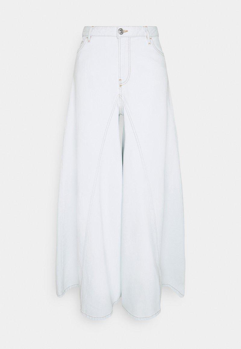 Diesel - SPRITZZ - Široké džíny - white