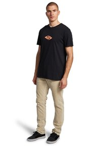 Quiksilver - EITHER WAY  - Print T-shirt - black - 1