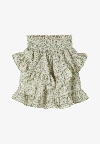 A-snit nederdel/ A-formede nederdele - bright white