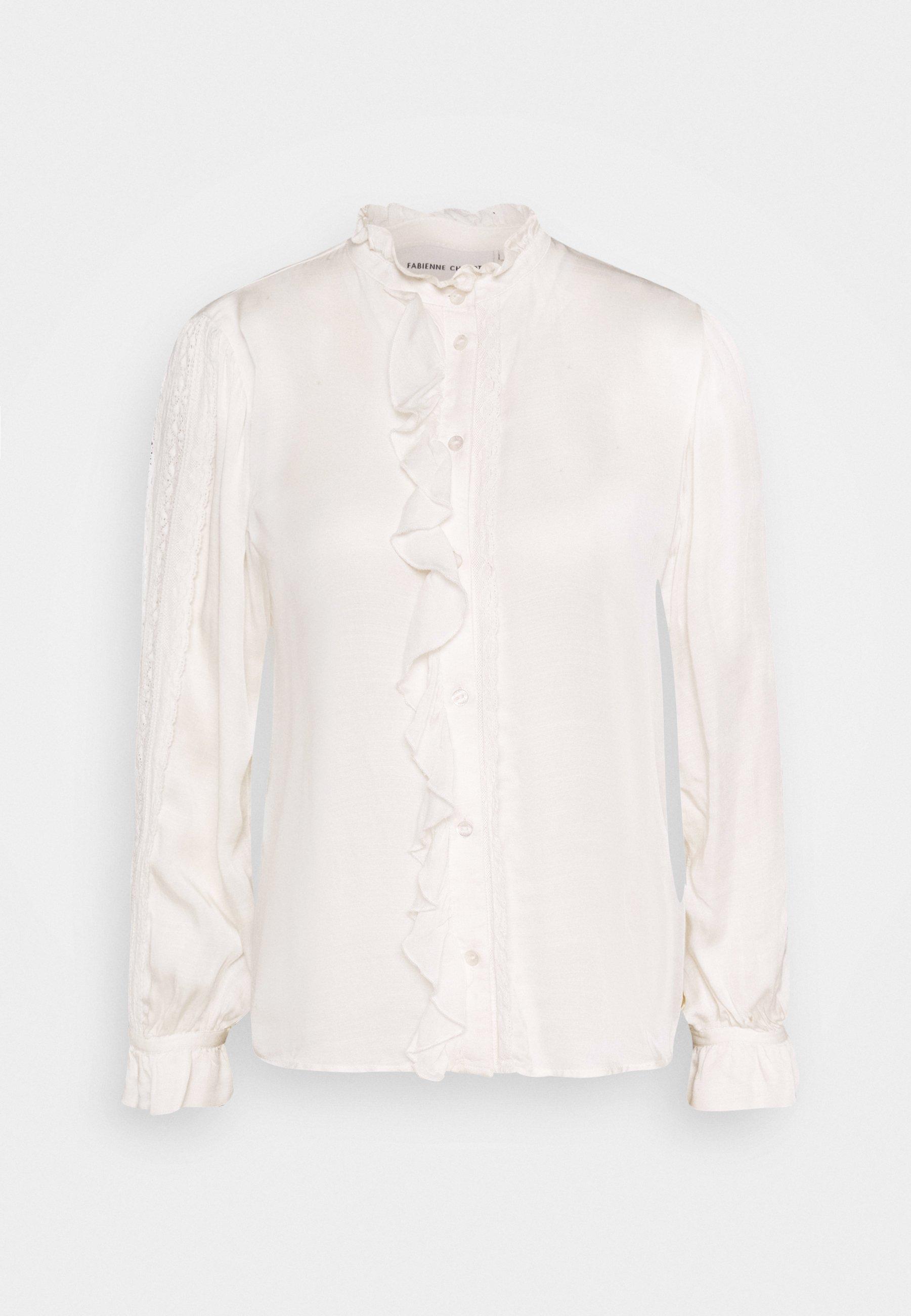 Meghan Skjorte Bright White   MATCH nettbutikk