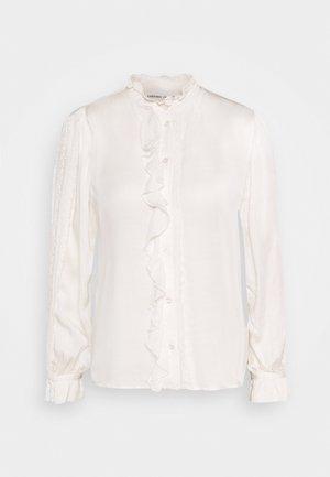 MIMI BLOUSE - Skjorte - cream white