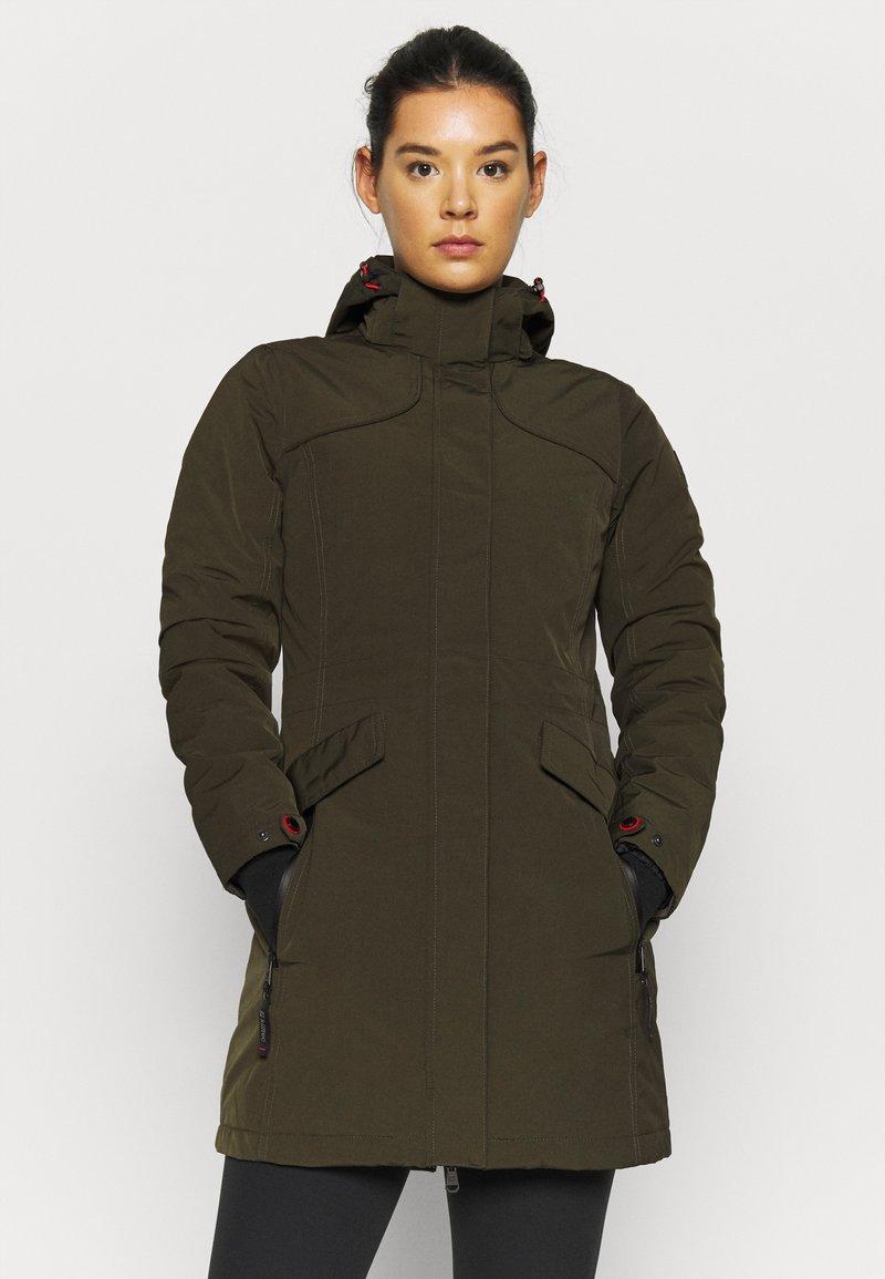 Killtec - GRINDAVIK - Winter coat - dunkeloliv