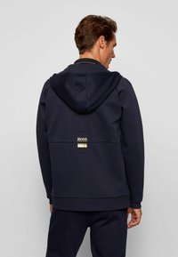 BOSS - Zip-up hoodie - dark blue - 2