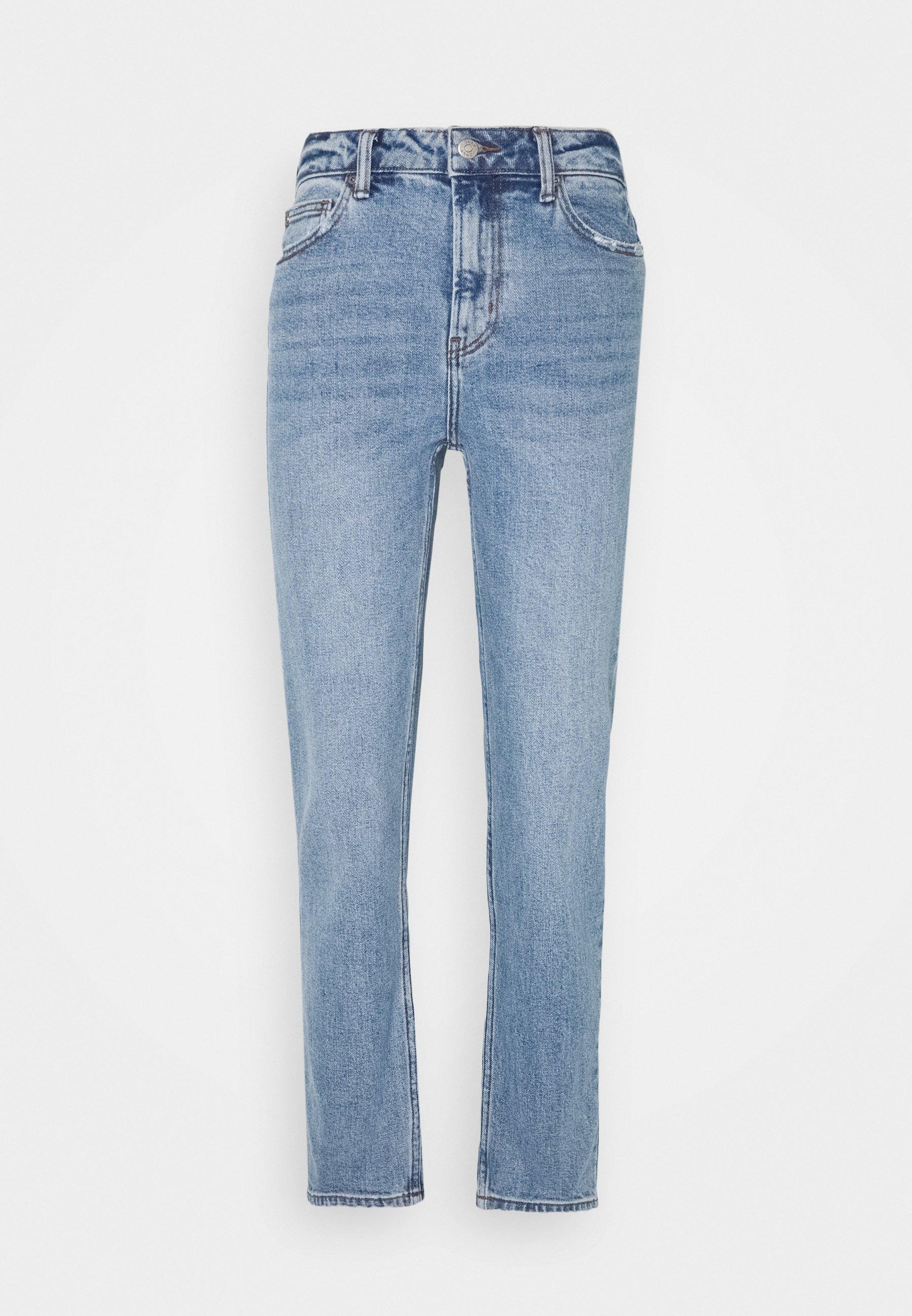 Damer ONLESTHER LIFE - Jeans Straight Leg