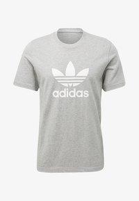 TREFOIL UNISEX - Print T-shirt - medium grey heather