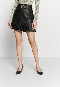 River Island - A-line skirt - black - 0