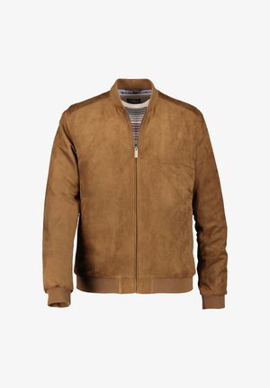 Winter jacket - cognac plain