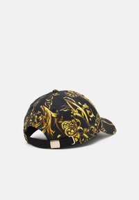 Versace Jeans Couture - BASEBALL WITH CENTRAL SEWING UNISEX - Pet - nero/oro - 1