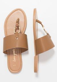 New Look - FANCY - Sandály s odděleným palcem - tan - 3