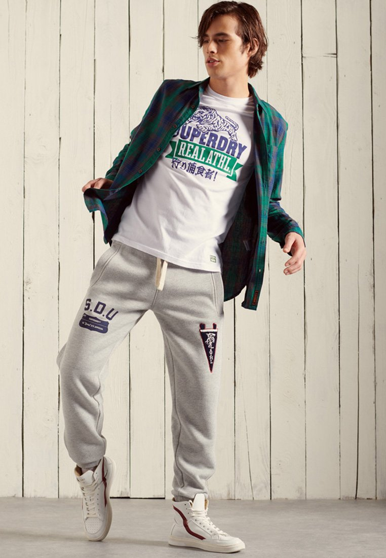 Superdry - WORKWEAR LITE - Shirt - notch green check