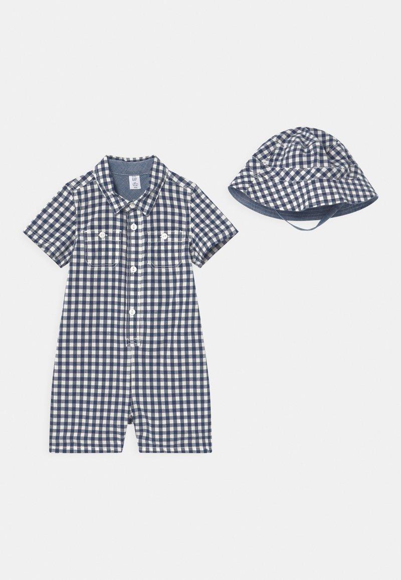 GAP - HAT SET - Beanie - navy uniform