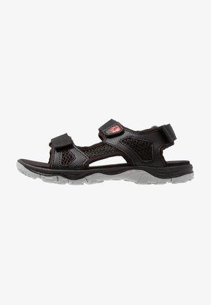 PUNO BEACH - Walking sandals - black