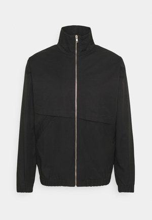 ASYMETRICAL ZIP JACKET - Summer jacket - black