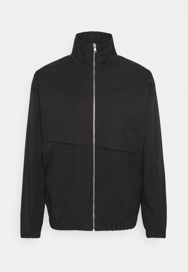 ASYMETRICAL ZIP JACKET - Lett jakke - black