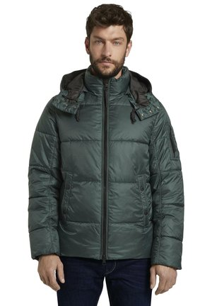 HEAVY PUFFER - Kurtka zimowa - dark gable green