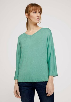 BATWING - Jumper - soft leaf green melange