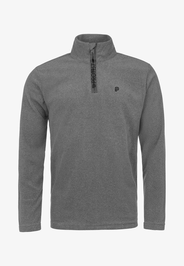 PERFECTYM  - Fleece jumper - dark gray melee