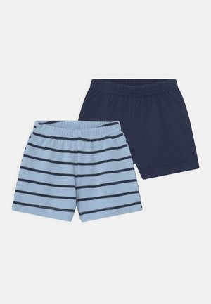 2 PACK UNISEX - Shorts - blue/dark blue