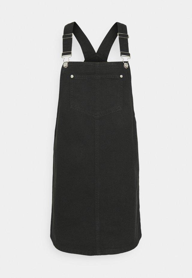 PADDY PINNY - Denim dress - black