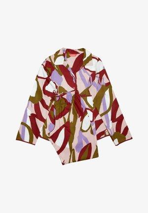 SET - Pyjama - burgundy floral