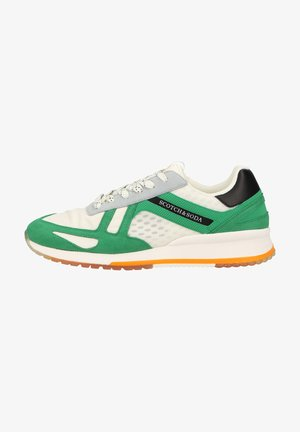 Trainers - green/white s