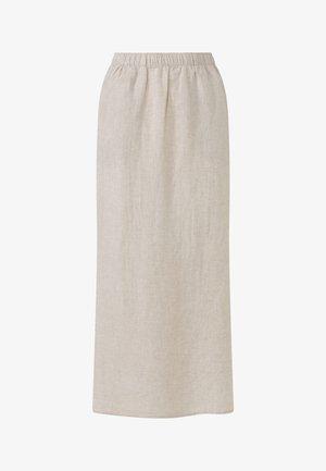 A-snit nederdel/ A-formede nederdele - beige