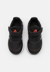 adidas Performance - DURAMO SL SHOES - Zapatillas de entrenamiento - core black/halo silver/solar red - 3