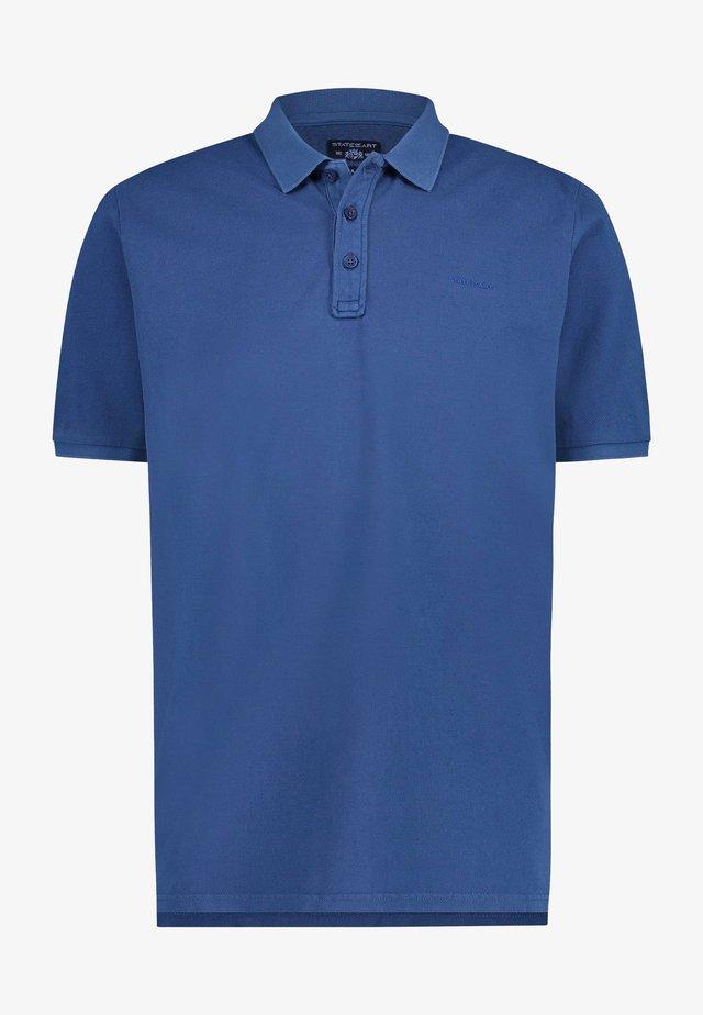 REGULAR FIT - Poloshirt - cobalt plain