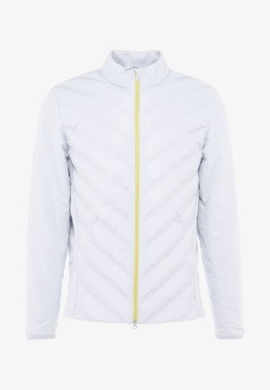 Outdoor jacket - pure platinum/chrome yellow/silver