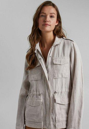 Summer jacket - light beige