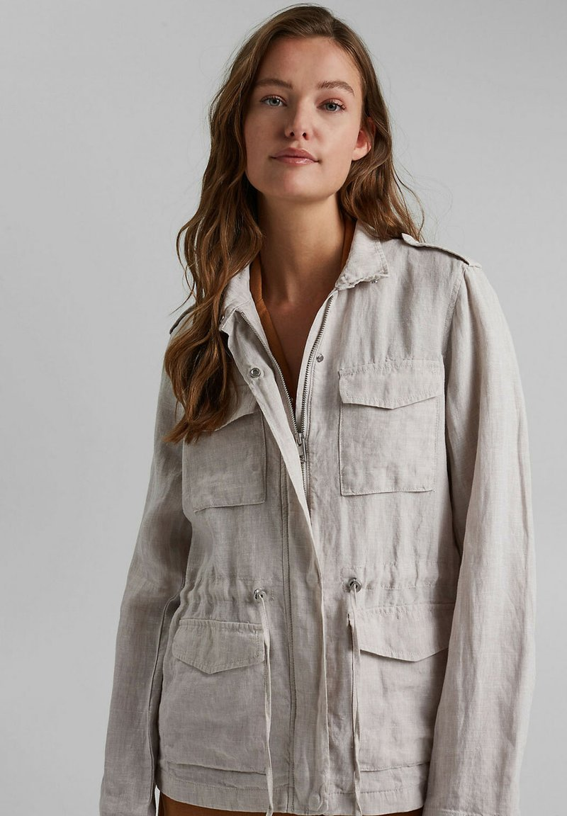 Esprit - Summer jacket - light beige