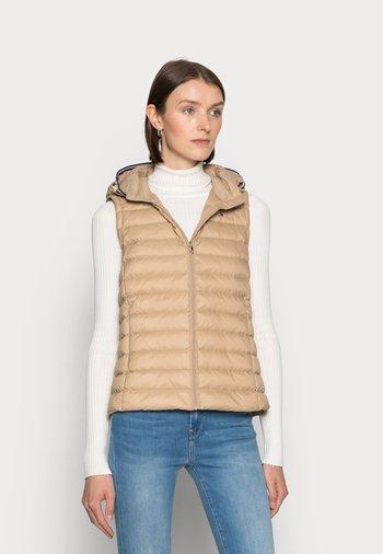 VEST - Waistcoat - beige