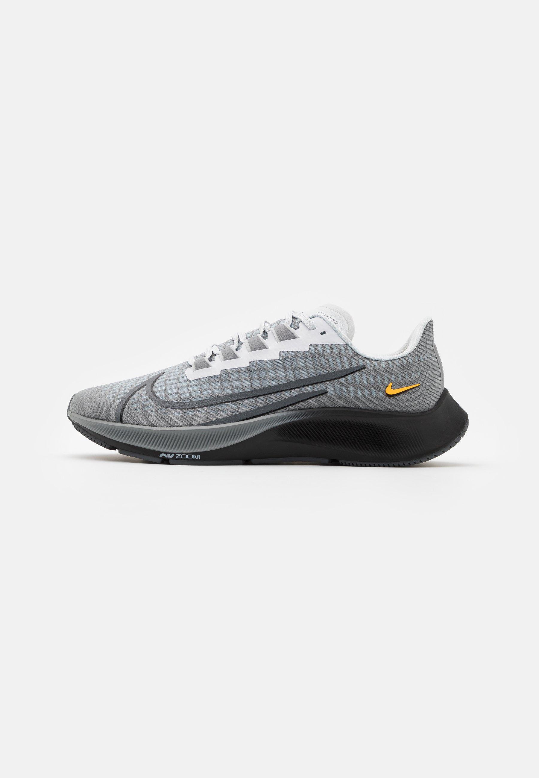 Integración tono Planeta  Nike Performance AIR ZOOM PEGASUS 37 UNISEX - Neutral running shoes -  particle grey/dark grey/black/white/grey - Zalando.co.uk