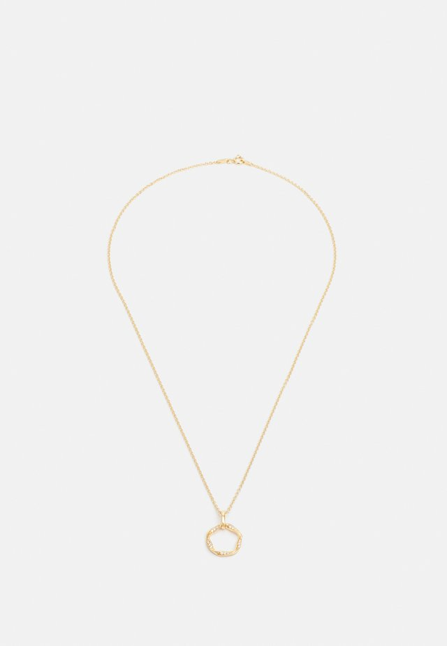 CETARA PICCOLO PENDANT - Necklace - gelbgold-coloured