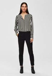 Selected Femme - Chinos - black - 1