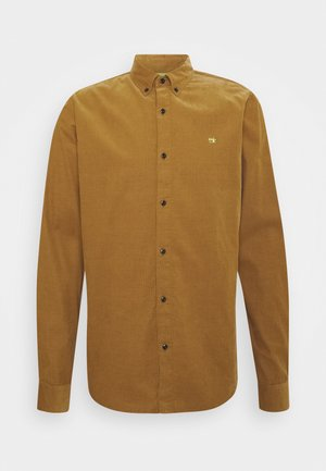 CLASSIC BUTTON DOWN REGULAR FIT - Shirt - camel