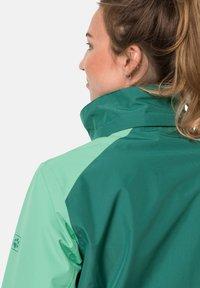 Jack Wolfskin - SAVOIA PEAK - Hardshell jacket - pacific green - 3