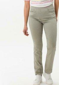 BRAX - Trousers - light olive - 0