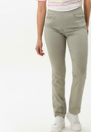 Trousers - light olive