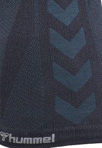 Hummel - HMLCLEA - Top - blue nights melange - 5