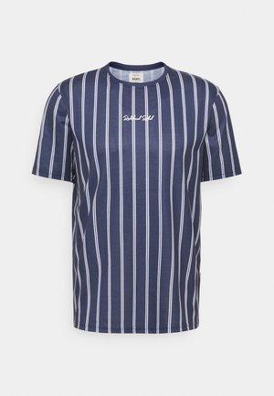 JETT TEE UNISEX - Print T-shirt - dark navy