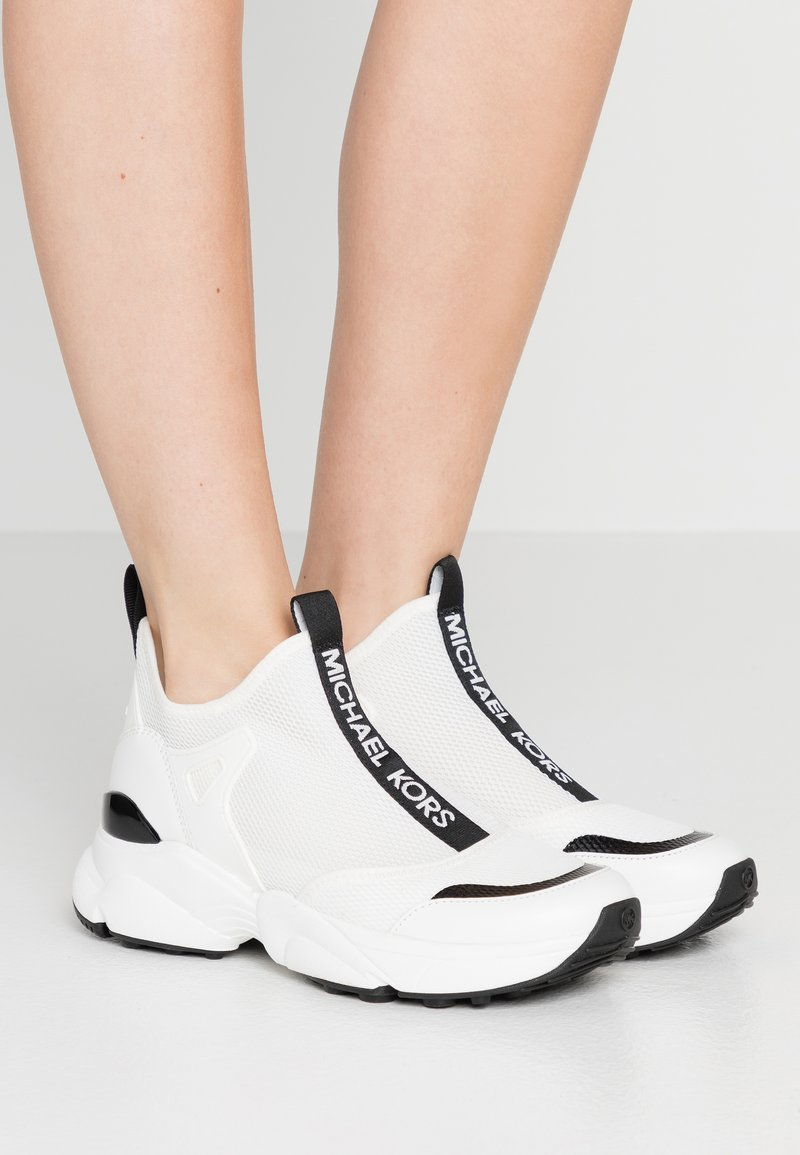 MICHAEL Michael Kors - Zapatillas altas - optic white