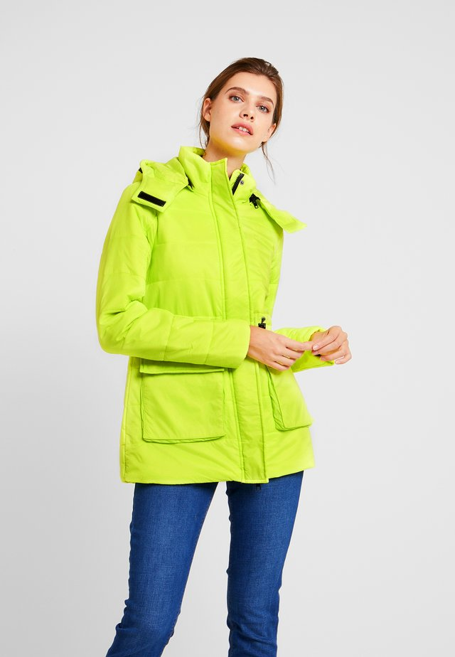 COAT - Summer jacket - neon