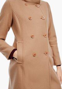 s.Oliver - Classic coat - brown - 3