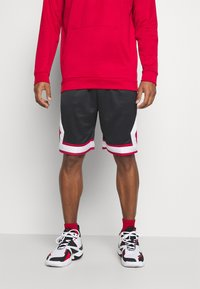 Jordan - JUMPMAN DIAMOND SHORT - Pantaloncini sportivi - black/gym red/white - 0