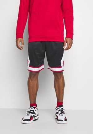 JUMPMAN DIAMOND SHORT - Pantalón corto de deporte - black/gym red/white