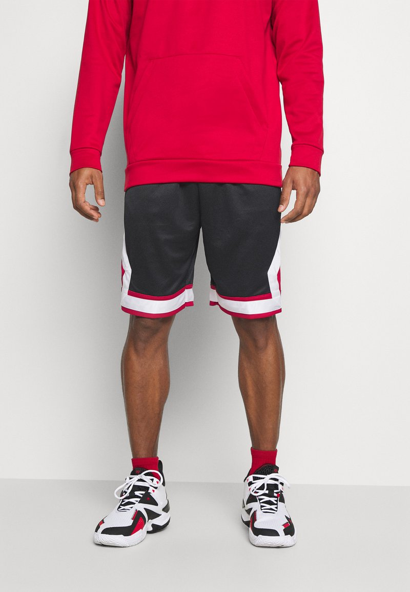 Jordan - JUMPMAN DIAMOND SHORT - Pantaloncini sportivi - black/gym red/white